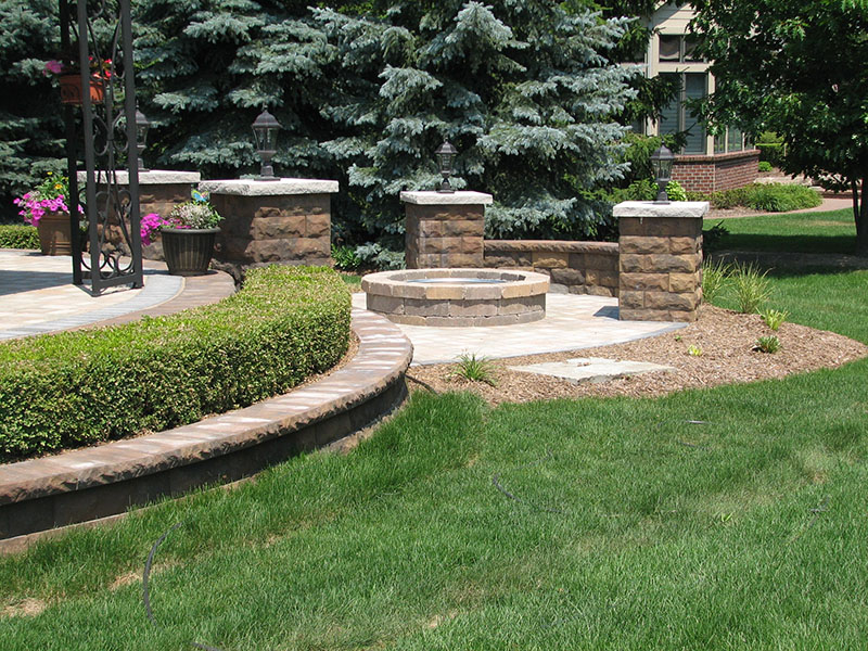 Brownell Retaining Wall