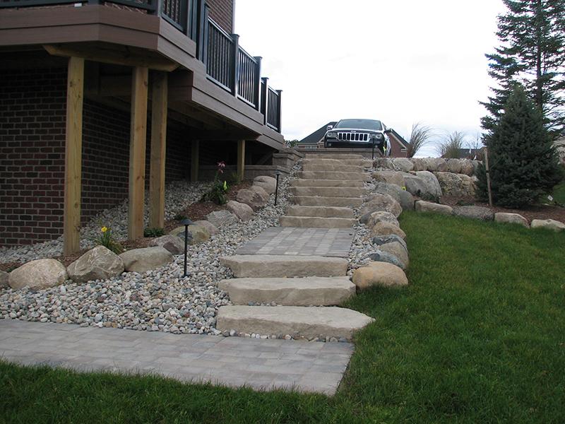 Eberhard Limestone Steps